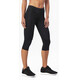 2XU Mid-Rise Compression Løbeshorts Damer sort